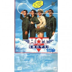 VHS Hot Shots - Charlie Sheen,Cary Elwes,Jon Carter,Lloyd Bridges (1992)