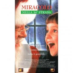 VHS Miracolo nella 34a strada - Richard Attenborough,Elisaberh Perkins,Dylan McDermott (1995)