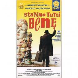 VHS Stanno tutti bene - Marcello Mastroianni (1990)