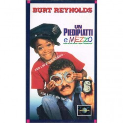 VHS Un piedipatti e mezzo - Burt Reynolds (1993)