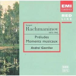 Rachmaninoff / Maurice Ravel - Préludes- Moments Musicaux: Andrei Gavrilov