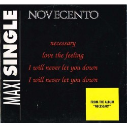 "Novecento - Necessary (ITA 1992 Baby Records  MIX 54114) 12""."