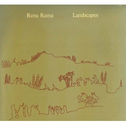 "Rena Rama - Landscapes (GER 1977 Japo Records JAPO 60020) LP 12""."
