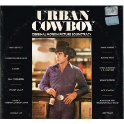 "Vari - Urban Cowboy (Original Motion Picture Soundtrack) (ITA 1981 Asylum Records, Full Moon U 99101) 2xLP 12""."
