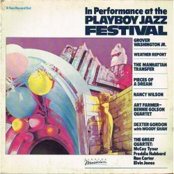 "Vari - In Performance At The Playboy Jazz Festival (ITA 1984 Elektra Musician 960 298-1) 2xLP 12""."