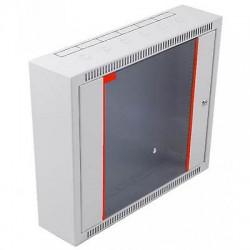 "Armadio rack 19"" da parete12 Unità 12HE Grigio RAL 7035 prof.150 mm. FLAT"