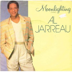 "Al Jarreau: Moonlighting (Theme) / Golden Girl (EU 1987) 7"" 45 giri"