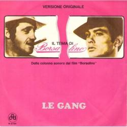 """Le Gang: Il Tema di Borsalino / Le Piano Lunaire (ITA 1970) 7"""" 45 giri"""
