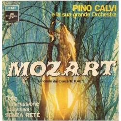 """Pino Calvi E La Sua Grande Orchestra:  Mozart (Andante Dal Concerto K.467)/A Questo Punto (ITA 1969) 7"""" 45 giri"""