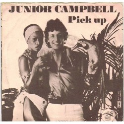 "Junior Campbell: Baby Hold On / Pick Up (ITA 1976) 7"" 45 giri"