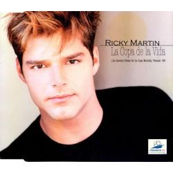 Ricky Martin - La Copa De La Vida (EU 1998 Columbia COL 665520 2) CD, Single