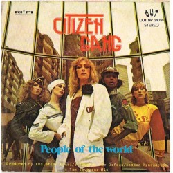 "Citizen Gang: Womanly Way / People of The World (ITA 1979) 7"" 45 giri"