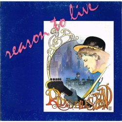 "Rudy's Blues Band - Reason To Live (ITA 1990 River Nile  64 7942451) LP 12""."