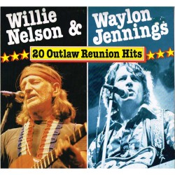 "Waylon Jennings & Willie Nelson - 20 Outlaw Reunion Hits (GER 1984 Astan 20020) LP 12""."