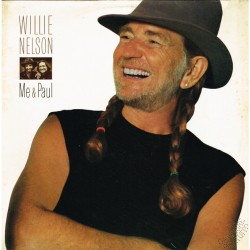 "Willie Nelson - Me & Paul  (HOL 1985 CBS 26363) LP 12"" / NM"