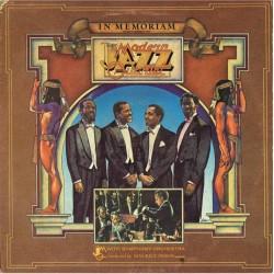 The Modern Jazz Quartet - In Memoriam (ITA 1974 Little David Records K 59650, LD 3001) LP EX