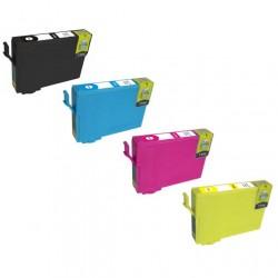MULTIPACK COMPATIBILE EPSON T603 4 Colori  XL Stella Marina 4 Colori