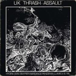 Vari - UK Thrash Assault (UK 1989 CMFT 1) LP / EX