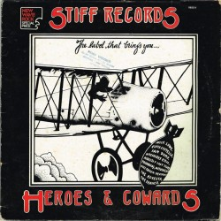 "Vari - Heroes & Cowards (ITA 1978 Stiff Records SEEZ 0) LP 12""."