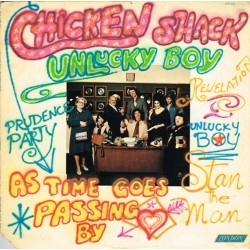 Chicken Shack Featuring Stan Webb - Unlucky Boy (US 1973 London XPS 632) LP