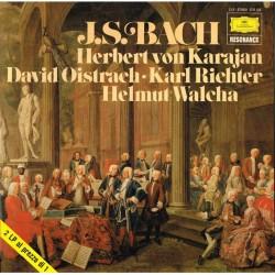 Bach - J. S. Bach: Herbert von Karajan, David Oistrach, Karl Richter, Helmut Walcha