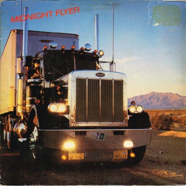 Midnight Flyer - Midnight Flyer (GER 1981 Swan Song SS 59 412) LP