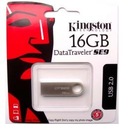 MEMORIA FLASH PEN DRIVE DATA TRAVELER USB 2.0 16GB KINGSTON DTSE9H/16GB