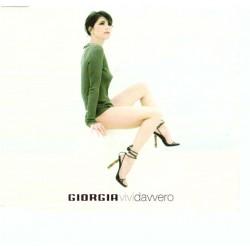 Giorgia - Vivi Davvero (ITA 2002 Bmg 743219469021) CD, Maxi Single