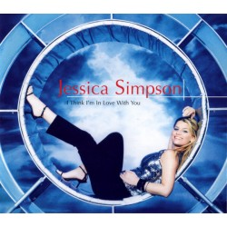 Jessica Simpson - I Think I'm In Love With You (EU 2000 Columbia COL 669332 2) CD, Maxi Single