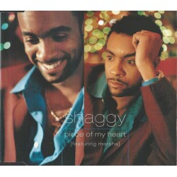Shaggy featuring Marsha - Piece Of My Heart (EU 1997 Virgin  VSCDT1647) CD, Maxi Single