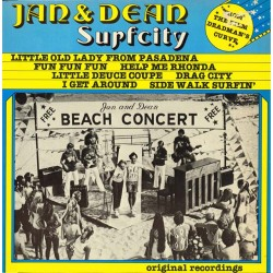 Jan & Dean - Surfcity (HOL 1979 GIP 33021) LP