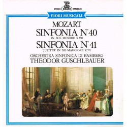 "Mozart - Sinfonia Nº 40 In Sol Minore K 550 / Sinfonia Nº 41 ""Jupiter"" In Do Maggiore K 551: Bamberger Symphoniker, Theodor Gus"