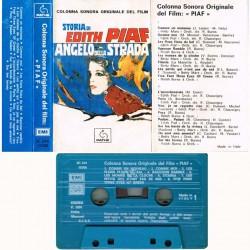 Edith Piaf & Betty Mars - Storia Di Edith Piaf, Angelo della Strada (ITA 1974  Pathé 3c 244 15308) Musicassetta