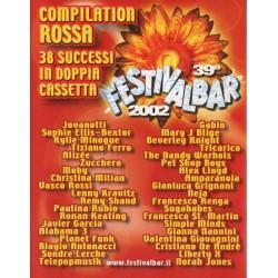 Vari - 39° Festivalbar 2002 - Compilation Rossa (ITA 2002 EMI 54027624) 2 Musicassette