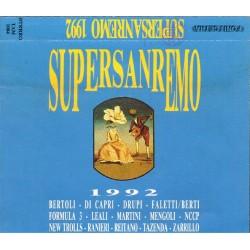 Vari - Supersanremo 1992 (ITA 1992 Fonit Cetra TAM 1004) 2 Musicassette