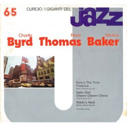 I Giganti Del Jazz Vol.65 LP - Charlie Byrd, René Thomas, Mickey Baker (Curcio GJ-65)