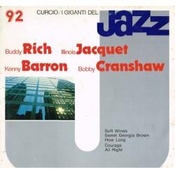 I Giganti Del Jazz Vol.92 LP - Buddy Rich, Illinois Jacquet, Kenny Barron, Bob Cranshaw (Curcio GJ-92)