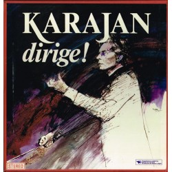 Herbert von Karajan - Karajan dirige!   (BOX 9 LP)