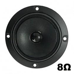 "Tweeter Magnetico 8 Ohm a Cono (in Carta) Chiuso 4"" Pollici 10 Cm (98mm) Hi-Fi"