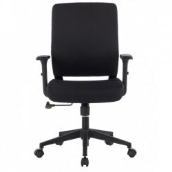 Poltrona da ufficio con seduta imbottita e braccioli
