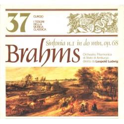 I Tesori Della Musica Classica 37, Brahms - Sinfonia No. 1:  Leopold Ludwig, Orch.Filarmonica Di Stato Amburgo