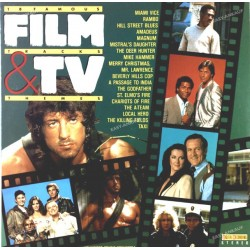 Hollywood Studio Orchestra - 18 Famous Film Tracks & TV Themes (GER Laser 26018) LP NM