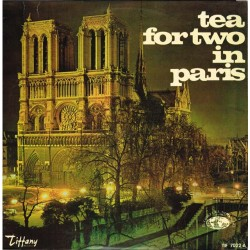 Sensation Band - Tea For Two In Paris (ITA Tiffany Records TIF 7022 A, MM 3043) LP EX