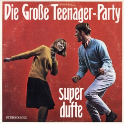 The Gus Brendel Group / The Crazy Horses - Die Große Teenager-Party (Super Dufte) (GER Fass 1445 WY) LP, Red
