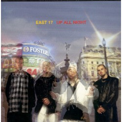 East 17 - Up All Night (EU 1995 London 828 699-2) CD,  Ediz. Spec.