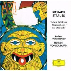 Richard Strauss - Tod Und Verklärung / Metamorphosen / Vier Letzte Lieder: Berliner Philharmoniker, Herbert von Karajan