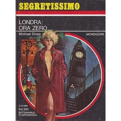 Collana Segretissimo Mondadori, nr.225 - Londra: ora zero - 1968
