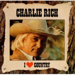 Charlie Rich - I Love Country (EU  CBS 54939) LP NM