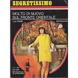 Collana Segretissimo Mondadori, nr.295 -Molto di nuovo sul fronte orientale-1969
