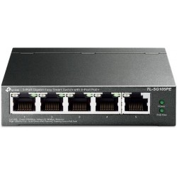 Switch 5 port Gigabit con 4-Port PoE+ TP-Link TL-SG105PE